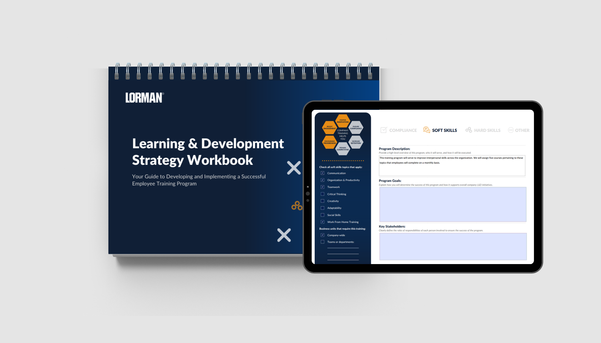 Learning & Development Strategy Workbook [Interactive eBook]