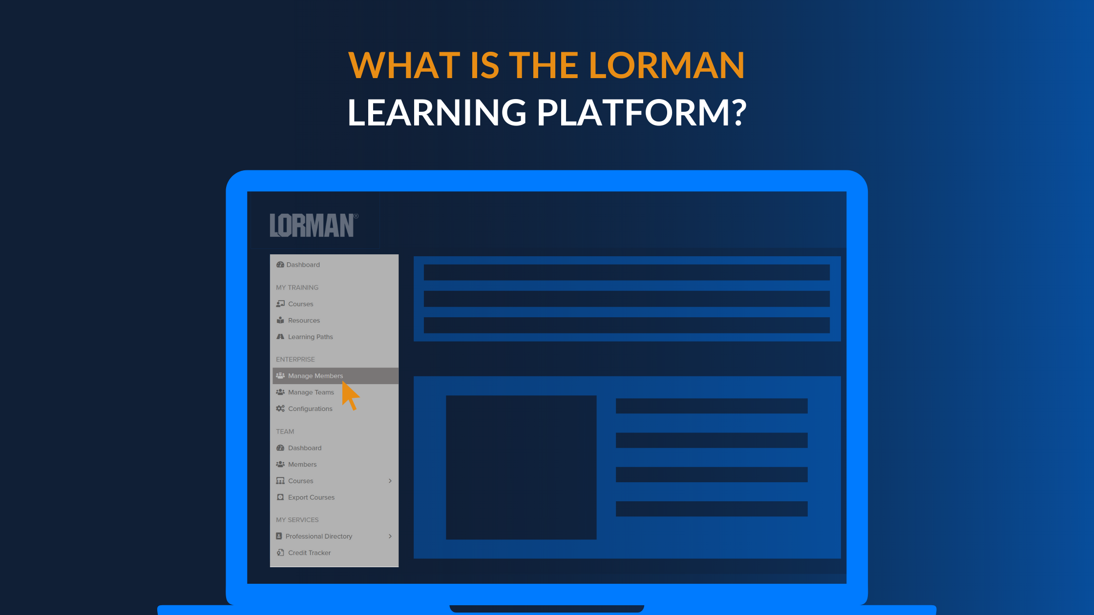 What is the Lorman Learning Platform?