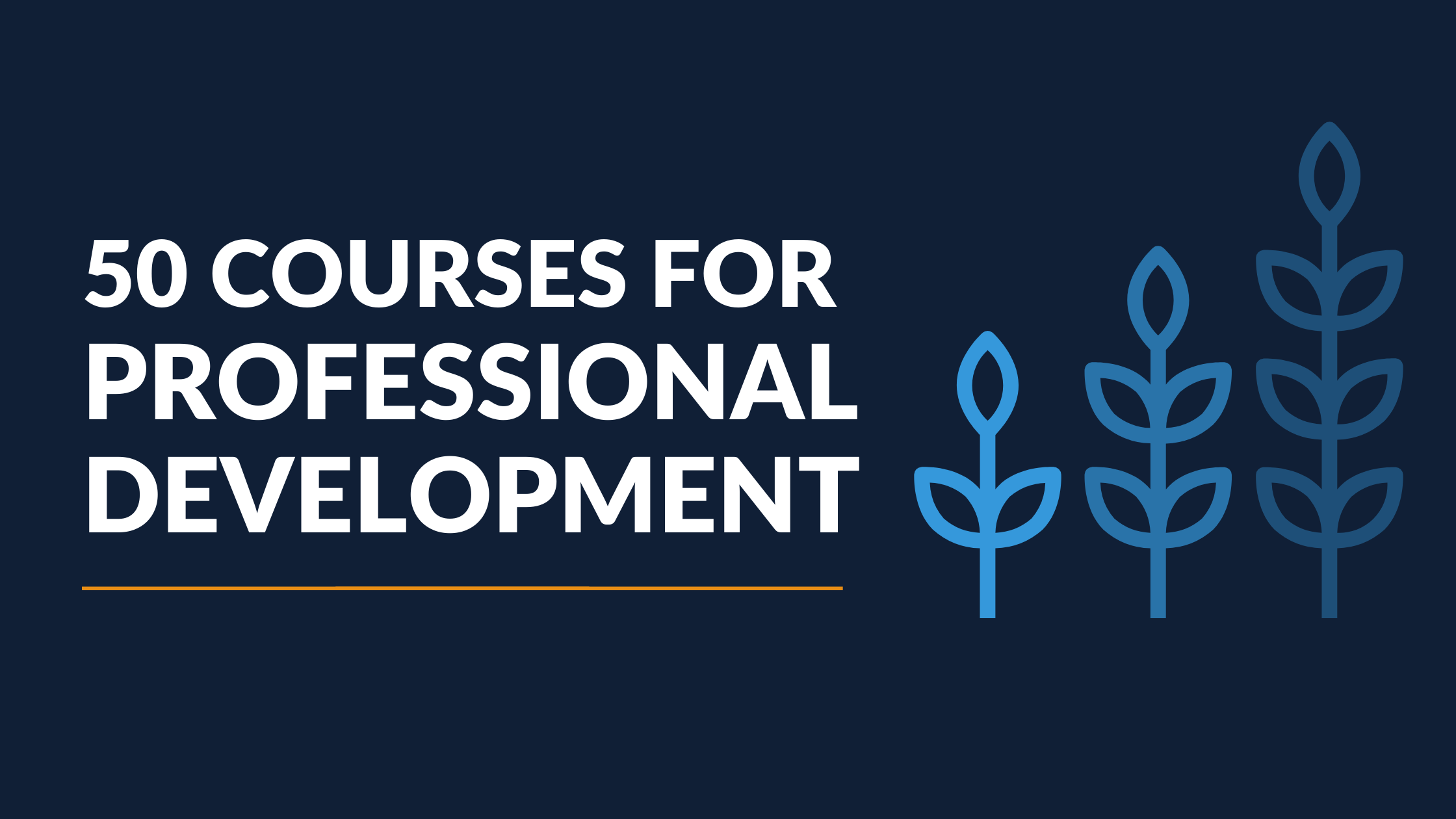 50 Professional Development Courses