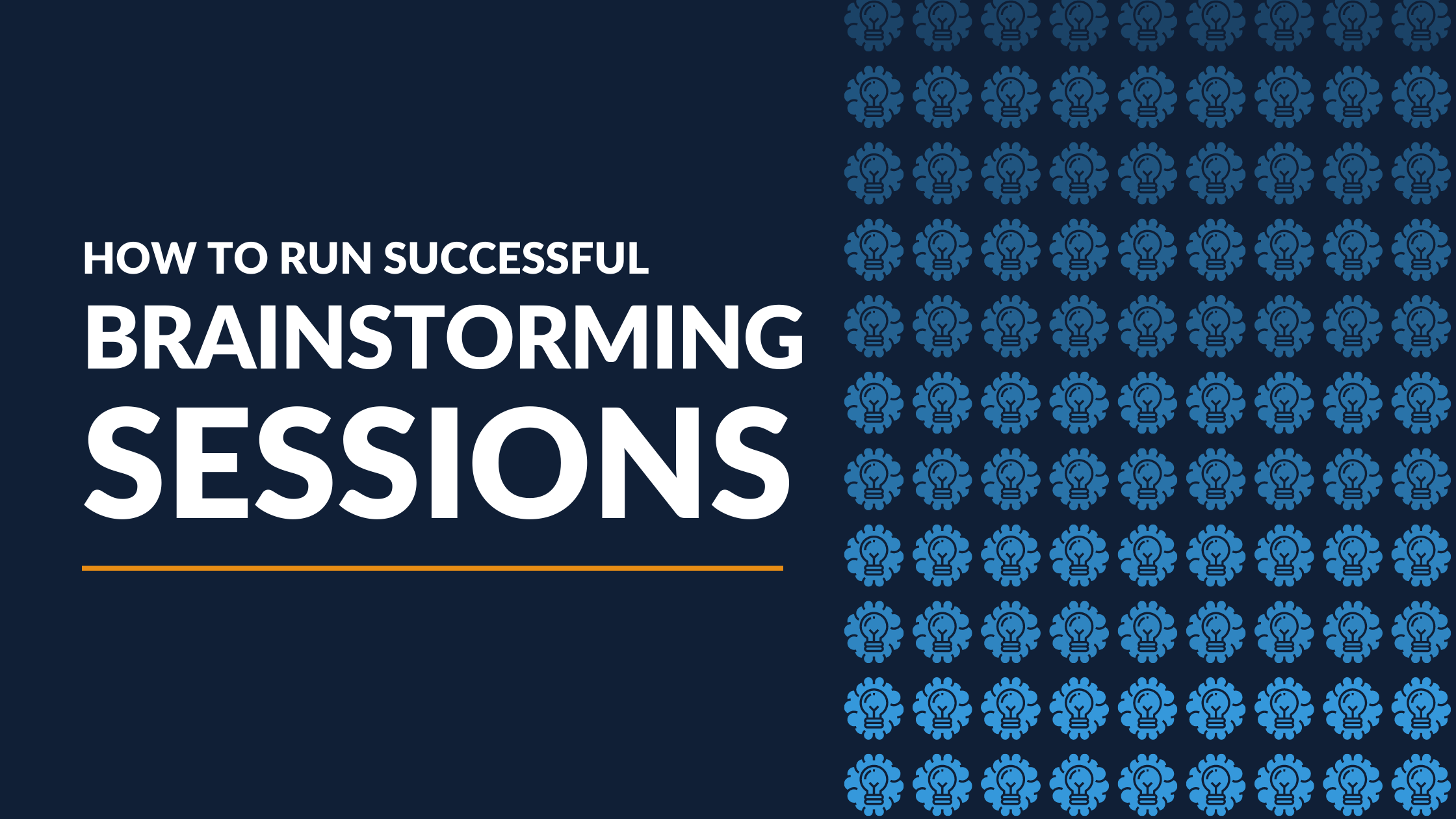 How to Run a Successful Brainstorming Session [Infographic]